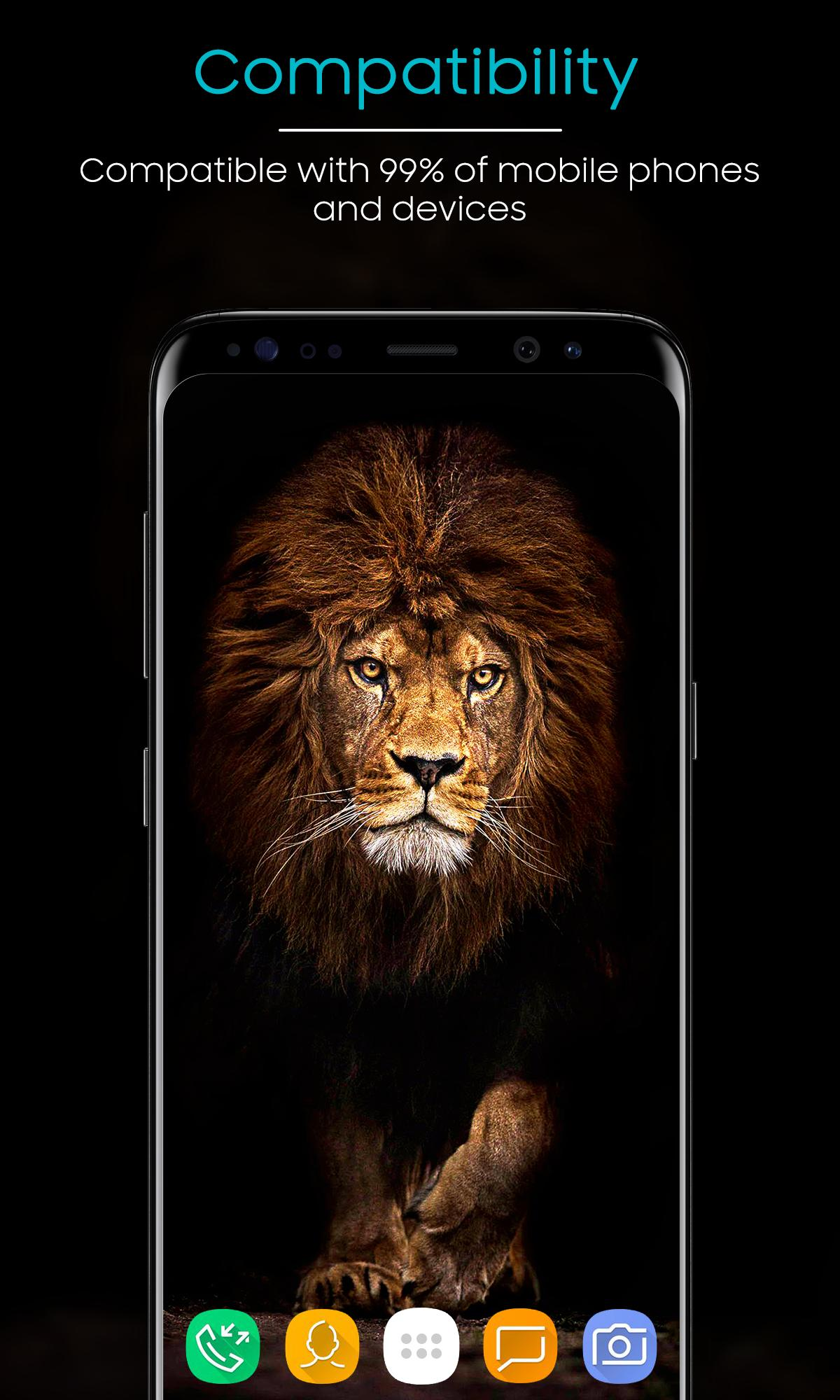 Lion Wallpaper 4k Wallpaper Free For Android Apk Download