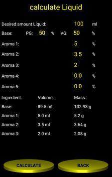 Base, E-Juice und Liquid Calculator for Android - APK Download