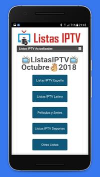 Listas IPTV 📺 Actualizadas 📲 Gratis screenshot 7