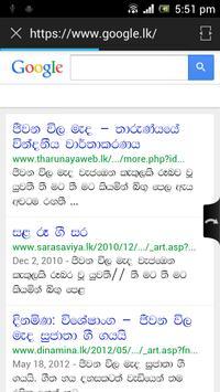 SETT Sinhala Tamil web browser-poster