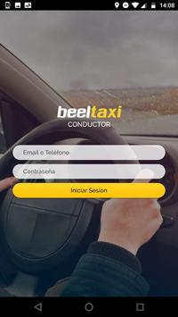beelTaxi Driver poster