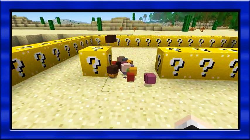 Mars Lucky Block - mods for minecraft for Android - APK Download