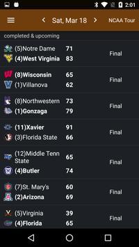 Sports Alerts - NCAA Basketball edition تصوير الشاشة 3