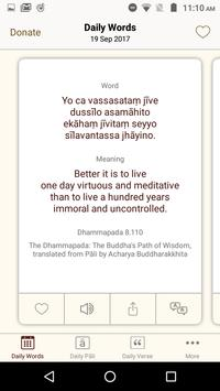 Daily Words of Buddha 스크린샷 1