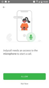 IndyCall - Free calls to India स्क्रीनशॉट 2