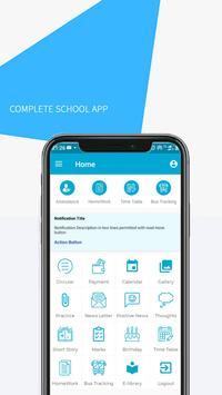 Loyola BJP School App poster