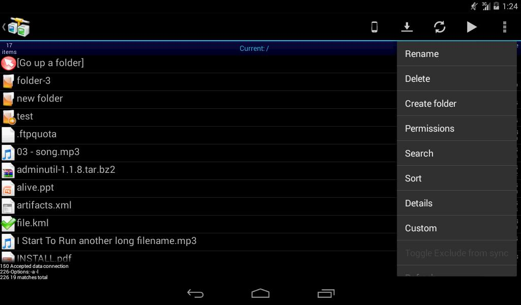 AndFTP for Android - APK Download