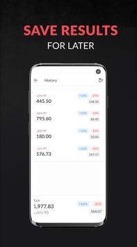 Discount and tax percentage calculator screenshot 3
