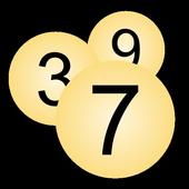 Number Random icon