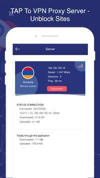 TAP To VPN Proxy Server - Sites screenshot 4
