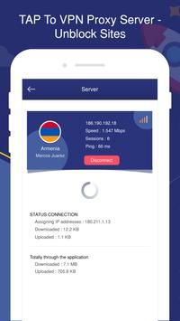 TAP To VPN Proxy Server - Sites screenshot 3