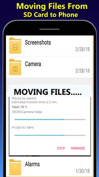File Move Phone to SD card & Apps Share poster