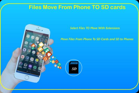 File Move Phone to SD card & Apps Share screenshot 5