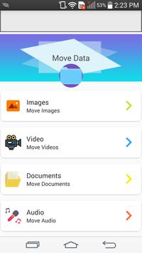 File Move Phone to SD card & Apps Share screenshot 4