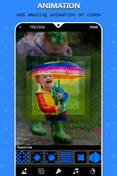 Rain video maker with music screenshot 1