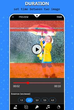 Rain video maker with music screenshot 4