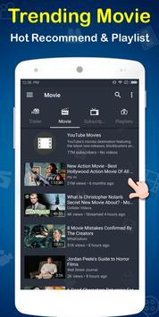MovieTube - Movie Video Tube Player for YouTube screenshot 2