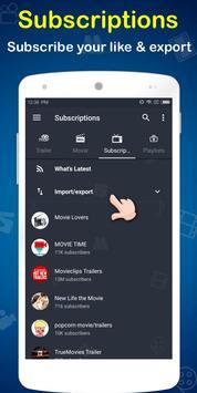 MovieTube - Movie Video Tube Player for YouTube screenshot 3