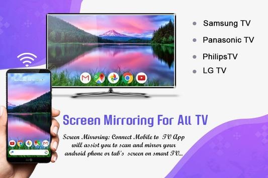 Screen Mirroring with TV - Screen Sharing on TV for Android