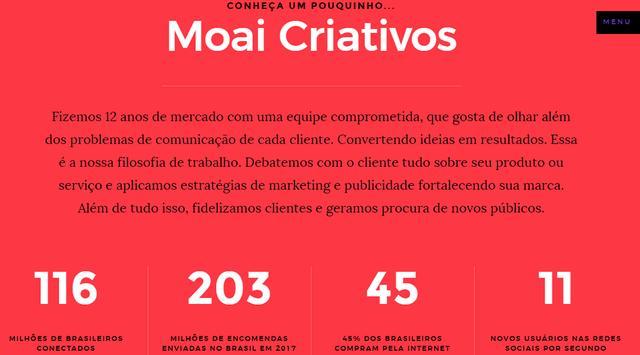 Moai Criativos screenshot 1