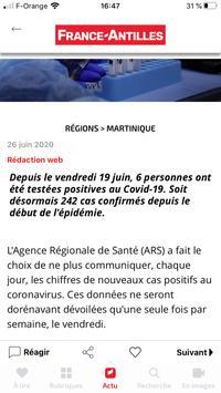 France-Antilles Martinique Actu スクリーンショット 2
