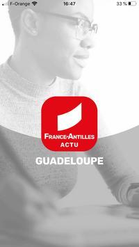 France-Antilles Guadeloupe Actu Affiche