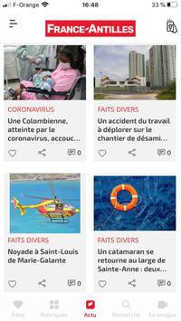 France-Antilles Guadeloupe Actu capture d'écran 1