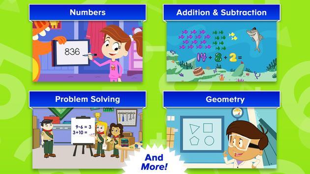 ABCmouse Mathematics Animations captura de pantalla 10