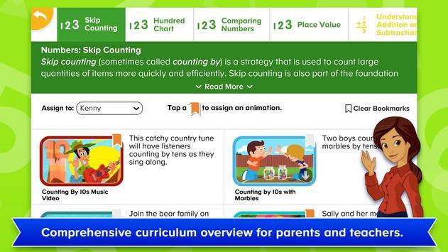 ABCmouse Mathematics Animations captura de pantalla 11