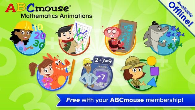 ABCmouse Mathematics Animations captura de pantalla 8