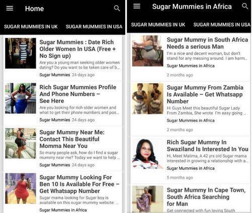 For sites free mummy sugar Sugar Momma