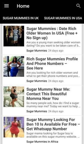 Sugar Mummy for Android - APK Download
