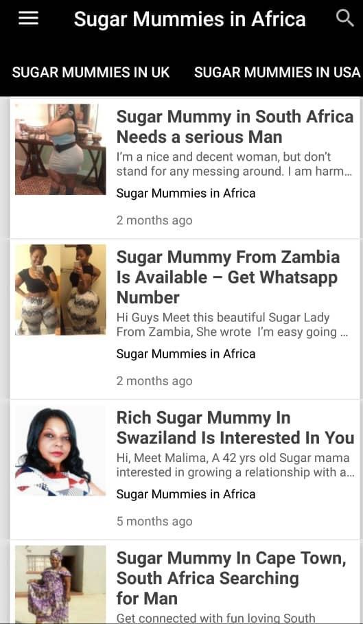 Www sugar mama com