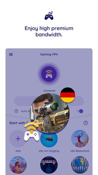 Gaming VPN 截圖 11