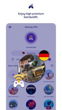 Gaming VPN 截圖 3