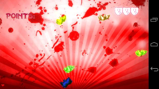 Gummy Bear Ninja screenshot 2
