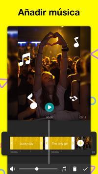 Editor de Vídeo: hacer videos de musica – My Movie captura de pantalla 5