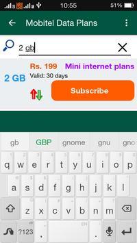4G Data Plan Sri Lanka screenshot 4
