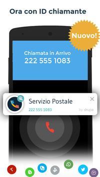 1 Schermata Contatti & Telefono - drupe