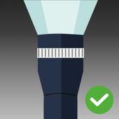 手电筒(免费和无弹出广告) 图标