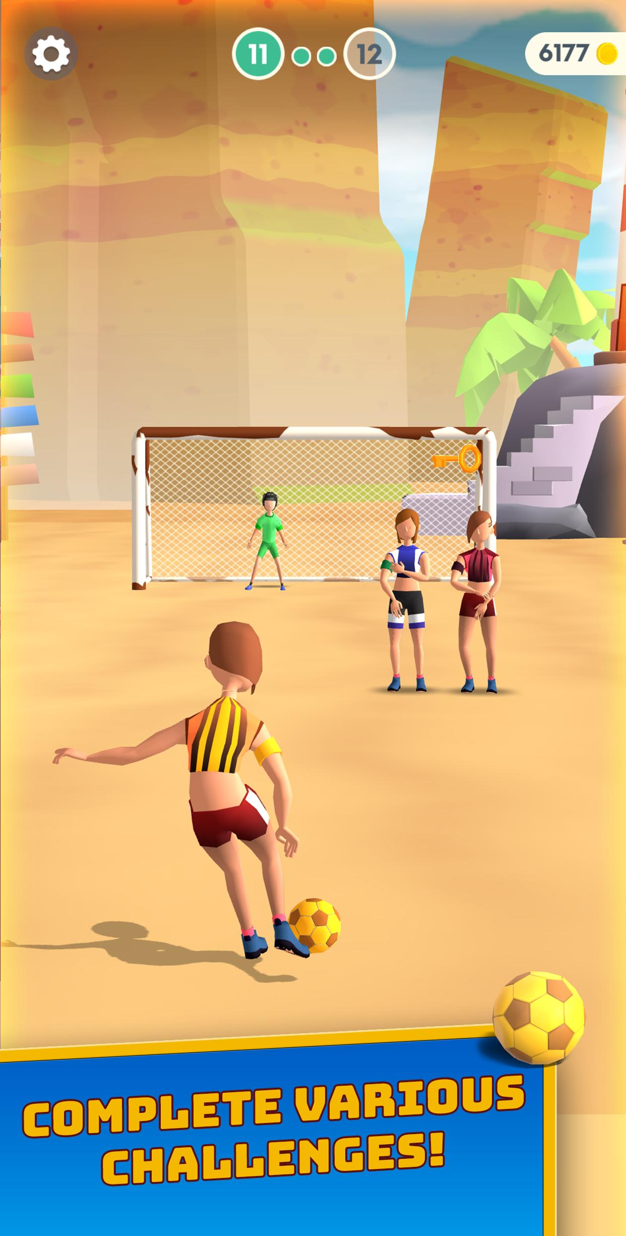 Flick goal - Honest Mobile Game Review