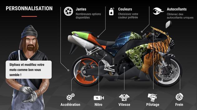 Racing Fever: Moto capture d'écran 3