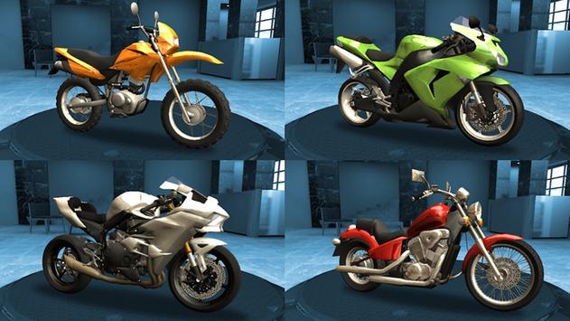 Racing Fever: Moto تصوير الشاشة 16