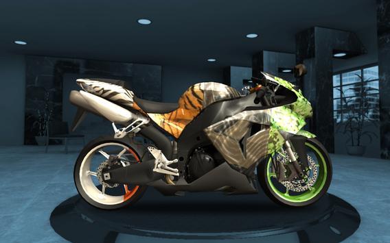Racing Fever: Moto تصوير الشاشة 10