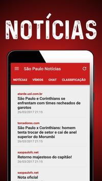 Notícias do São Paulo screenshot 4