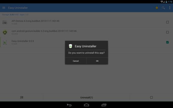 Easy Uninstaller screenshot 10