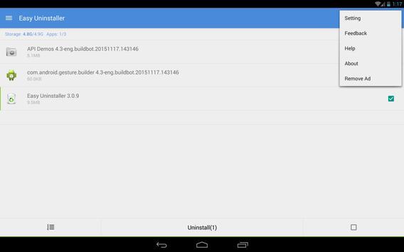 Easy Uninstaller screenshot 8