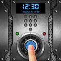 Password style lock screen