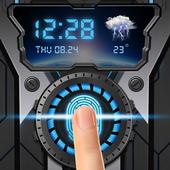 wheelgear fingerprint style lock screen for prank icon