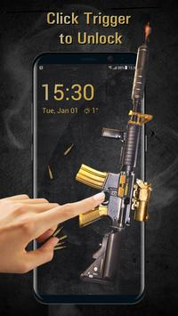 Cool Gun Shooting Lock Screen App screenshot 1